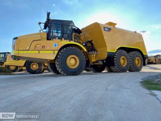 Caterpillar 740, 740B, 740GC Water Tanks