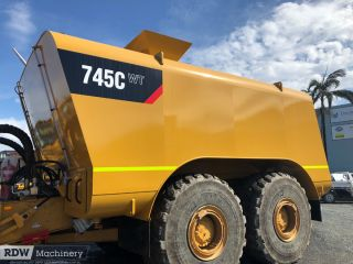 Caterpillar 745C, 745 Next Gen Water Tanks